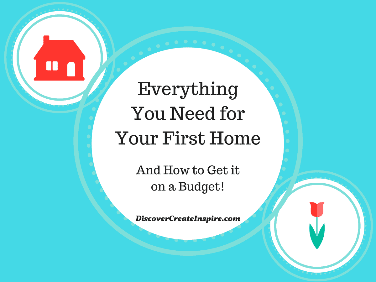 Everything you need to furnish your first home and how to for Things you need for a house