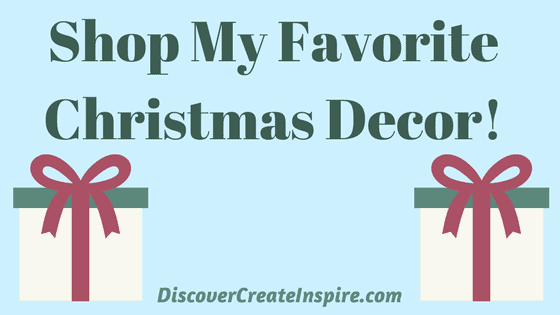 Shop My Christmas Decor Favorites