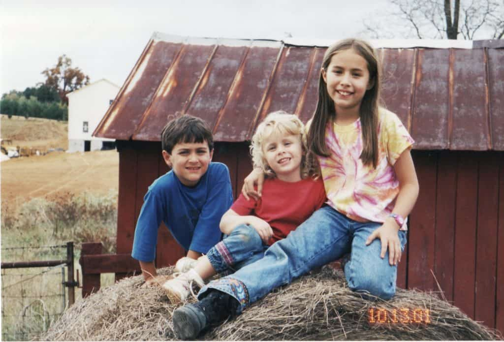 2001 Timothy, Coralee and Emily