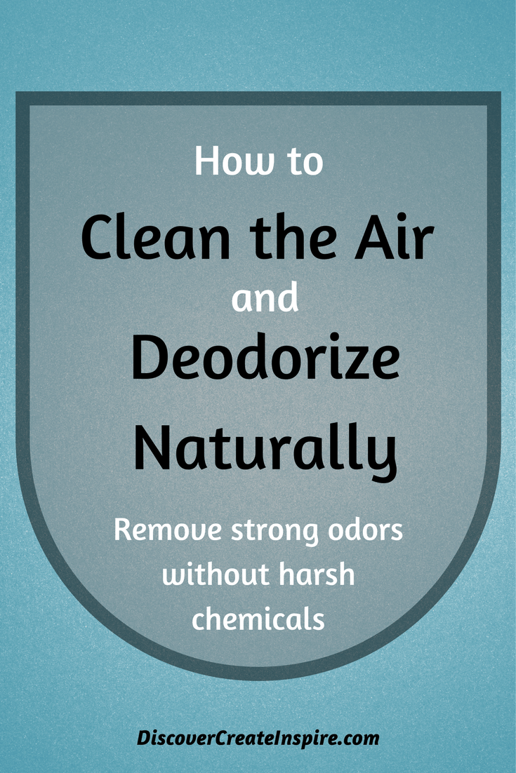 How to Remove Odors and Clean the Air in your House Naturally and ...