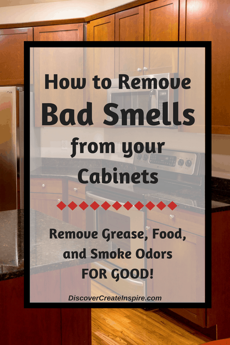 How to Remove Odors, Get rid of smoke, pet and grease smells in your your for good! DiscoverCreateInspire.com