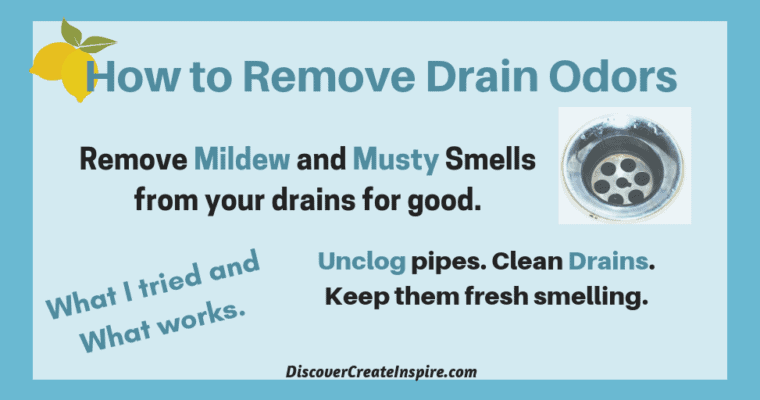 How to Remove Drain Odors from the Kitchen and Bathroom Sink