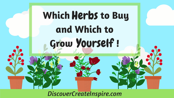 How to Decide Which Medicinal Herbs to Buy and Which to Grow Yourself