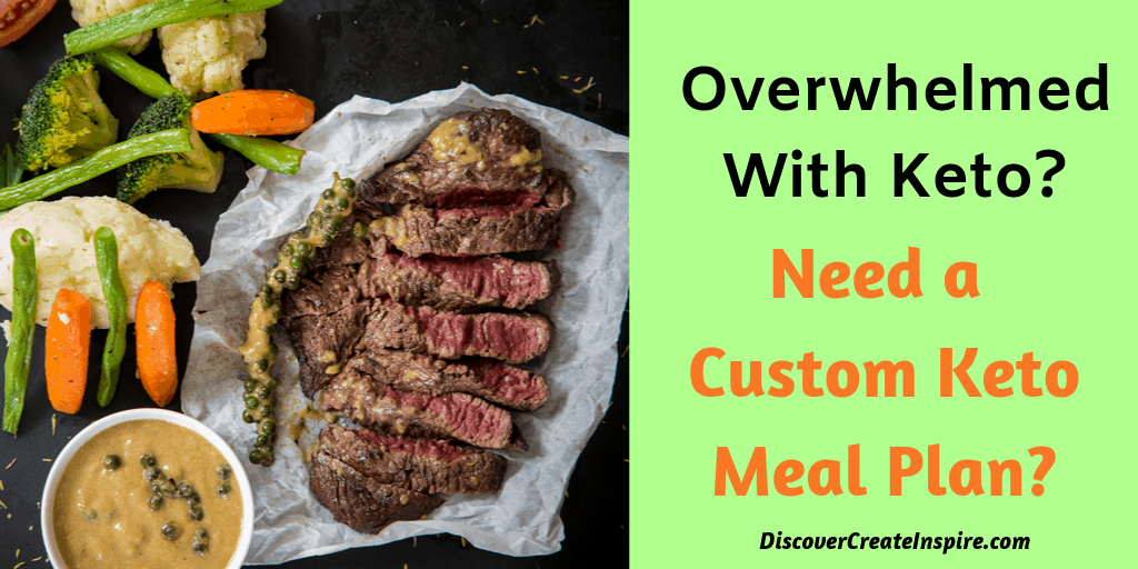 In Stock Plan  Custom Keto Diet