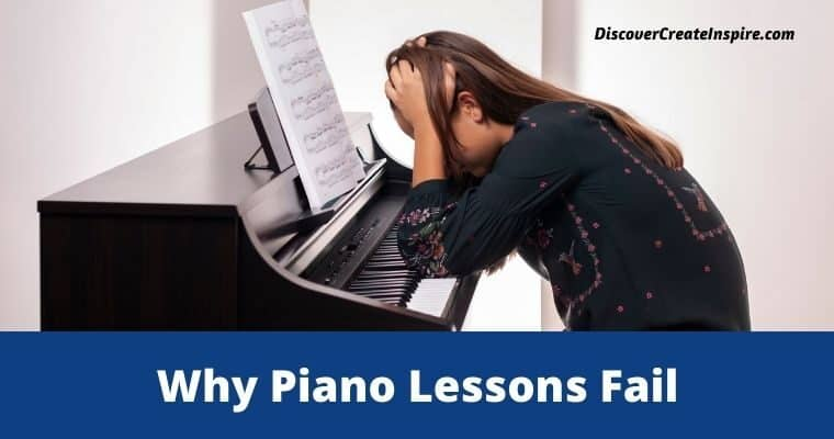 Why Piano Lessons Fail